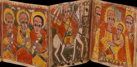 Ethiopian art detail